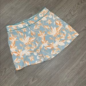 H&M floral and geometric print shorts
